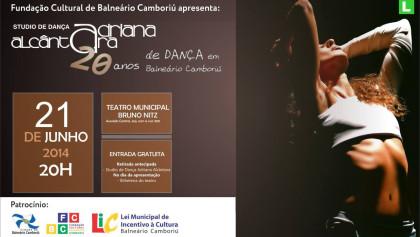 Espetáculo comemora os 20 anos do Studio de Dança Adriana Alcântara em Balneário Camboriú