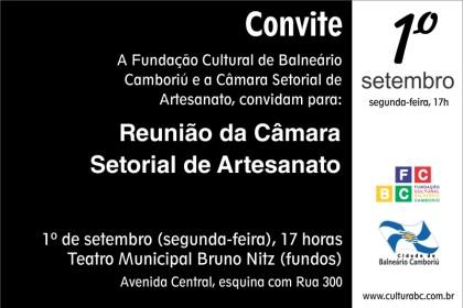 Fundação Cultural convida para reunião da Câmara Setorial de Artesanato