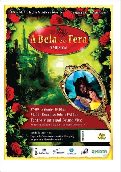 A Bela e a Fera estreia no Municipal
