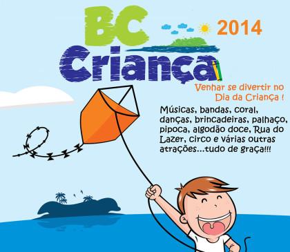BC Criança 2014 terá diversas atrações