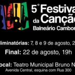 ATENÇÃO! Só até hoje às 19h ||| Inscrições para o 5º Festival da Canção vão até 15 de julho
