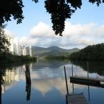Paisagens do entorno do Rio Camboriú são retratadas em projeto