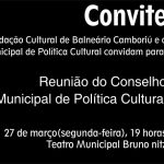 Reunião do Conselho Municipal de Política Cultural