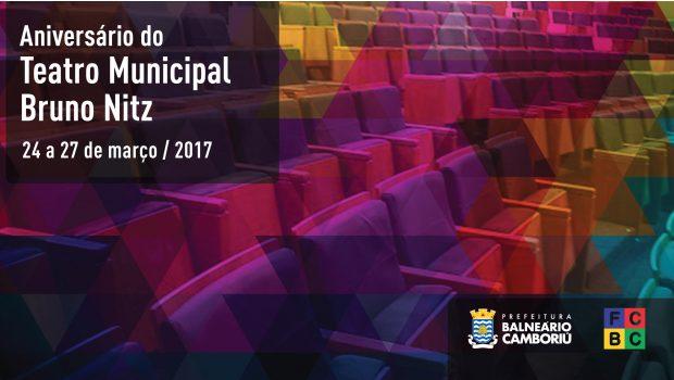 Há três anos, Teatro Municipal Bruno Nitz transforma o cenário cultural da cidade