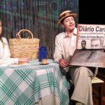 Neste sábado tem peça sobre Chico Xavier no Teatro Municipal Bruno Nitz