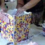 Praça da Cultura terá oficina gratuita de mosaico neste sábado