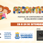 Inscrições para os cursos do Festival de Contadores de Histórias de Balneário Camboriú estão abertas