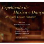 Teatro Bruno Nitz recebe espetáculo de música e dança nesta sexta-feira