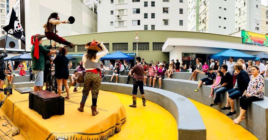 Feira da Cultura terá dança, circo e música neste sábado
