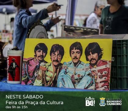 Feira da Cultura terá atrações artísticas e produtos artesanais neste sábado