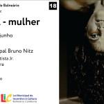 """""""Fedra, Mulher"""", um monólogo por Potyra Najara, estreia no Municipal de Balneário Camboriú"""