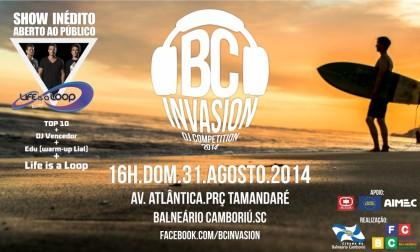 BC Invasion 2014 e show Life is a Loop são transferidos para 31 de agosto