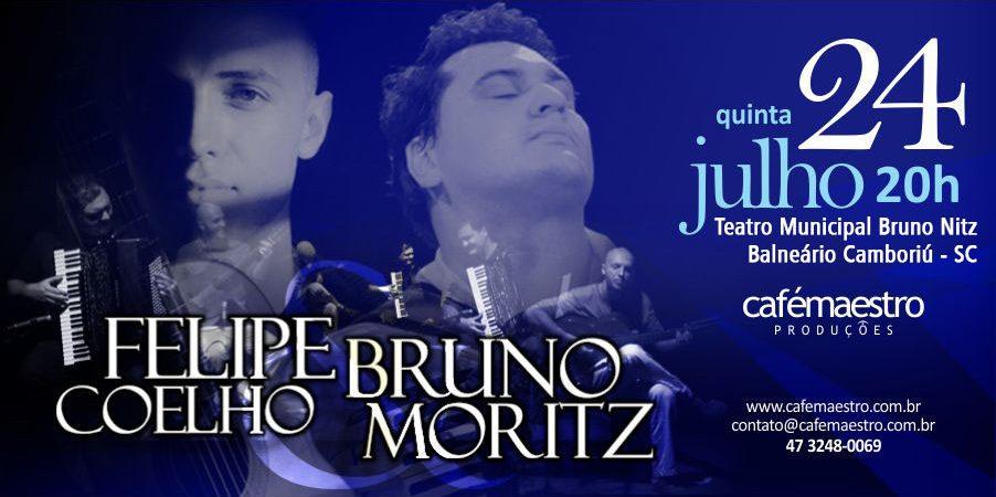 Bruno Moritz e Felipe Coelho em Balneário