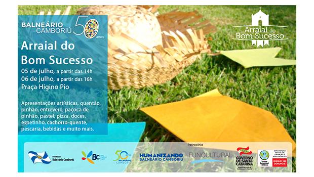 #50anos Festas marcam início das comemorações dos 50 anos de Balneário Camboriú