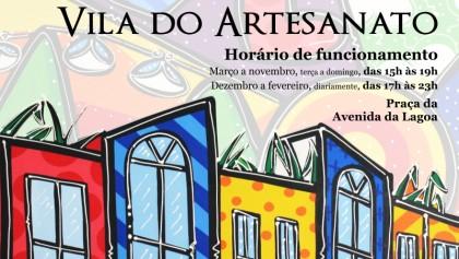 ÚLTIMO DIA – Inscrições no edital de permissão de uso da Vila do Artesanato terminam hoje