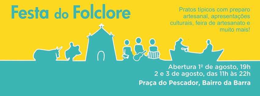 Festa do folclore vai agitar a Barra