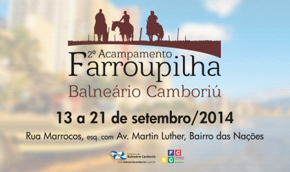 FCBC divulga a programação do 2º Acampamento Farroupilha