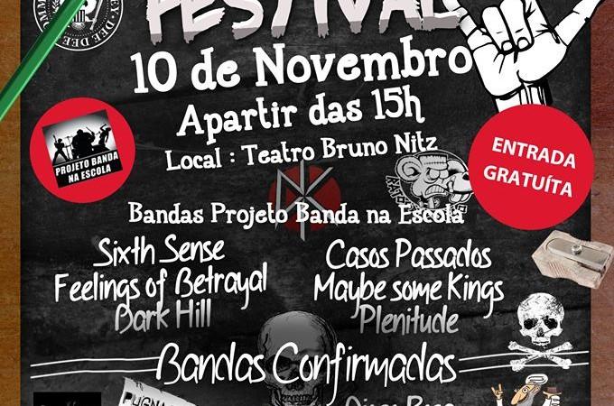 Festival School of Rock acontece hoje, 15h