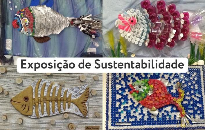 Exposição de Arte  Salve os Oceanos – Projeto de Sustentabilidade