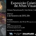 Fevereiro tem coletiva de artes visuais na Galeria Municipal