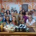Artesãos de Balneário visitam  feira do Sebrae em Florianópolis