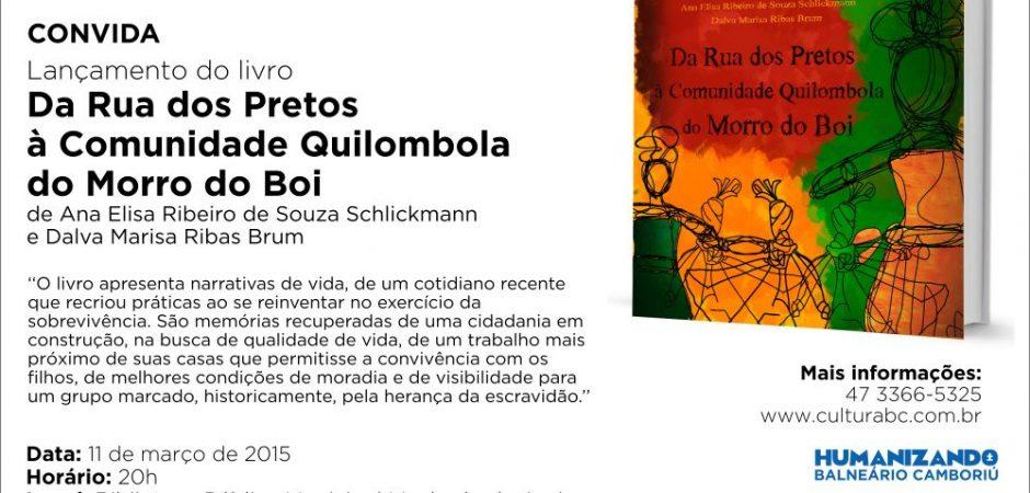 Comunidade Quilombola é tema de livro