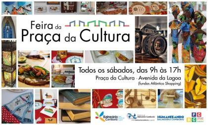 Começa sábado a Feira da Praça da Cultura