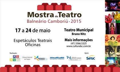 Mostra de Teatro de Balneário Camboriú 2015