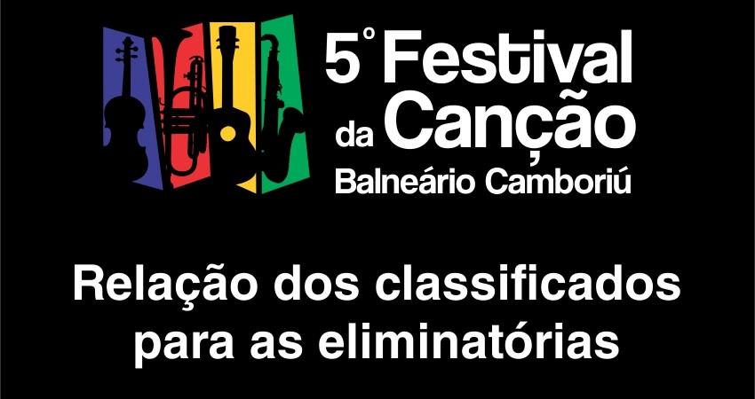 Festival da Canção: sai a lista dos classificados para as eliminatórias