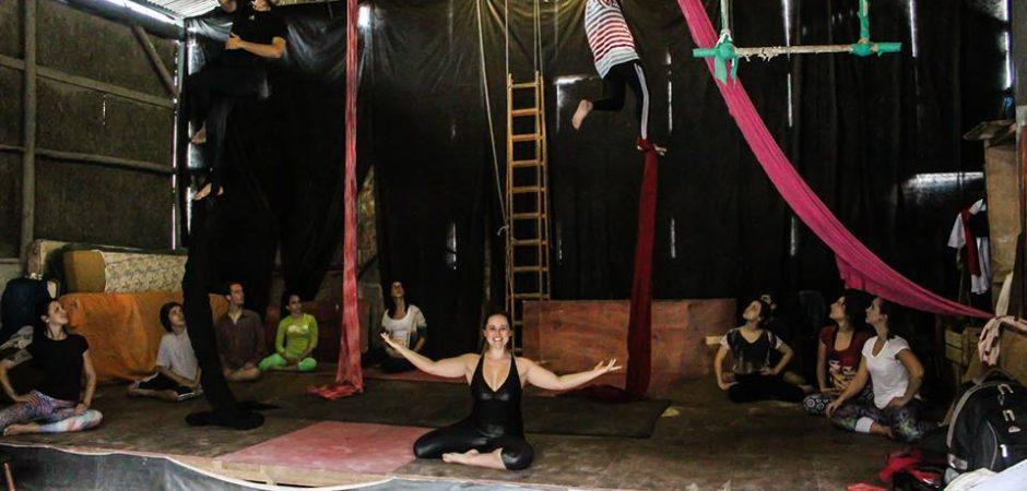 Apresentação marca encerramento de Curso Básico de Circo