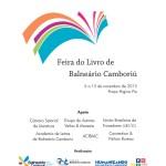 ÚLTIMOS DIAS – Feira do Livro de Balneário Camboriú abre inscrições para lançamento de livros e sessões de autógrafos