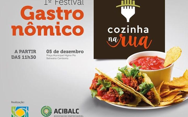 INSCREVA-SE ATÉ 5 DE NOVEMBRO – 1º Festival Gastronômico Cozinha na Rua.