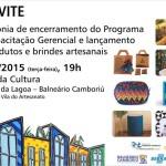 Fundação Cultural convida para lançamento de produtos e brindes artesanais