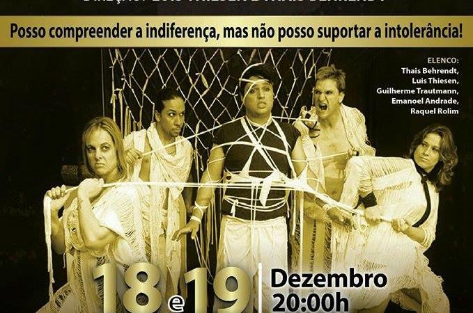 """Cia de Teatro Libertad apresenta: """"Credos e Crenças: Suas Faces e Interfaces"""""""