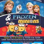 Show Musical – Minions e Frozen