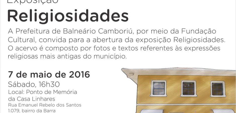 Mostra com 11 expressões religiosas pode ser conferida a partir de 7 de maio na Casa Linhares