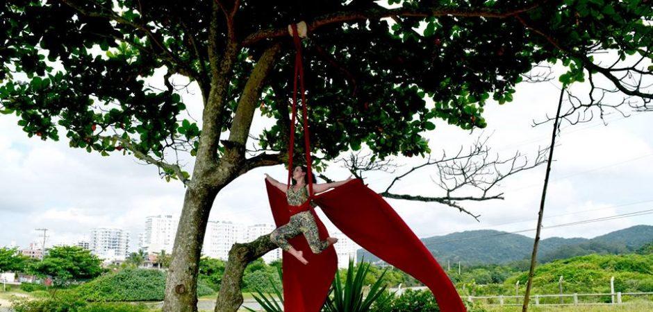 Localidades de Balneário Camboriú ganharão oficinas de tecido acrobático