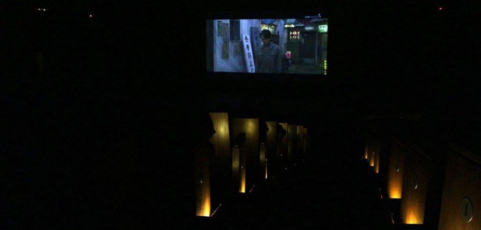 Teatro Bruno Nitz inaugurou tela de projeção com a 1ª Mostra de Filmes Japoneses