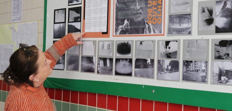 Fotografias vão inspirar alunos a criar trabalhos artísticos