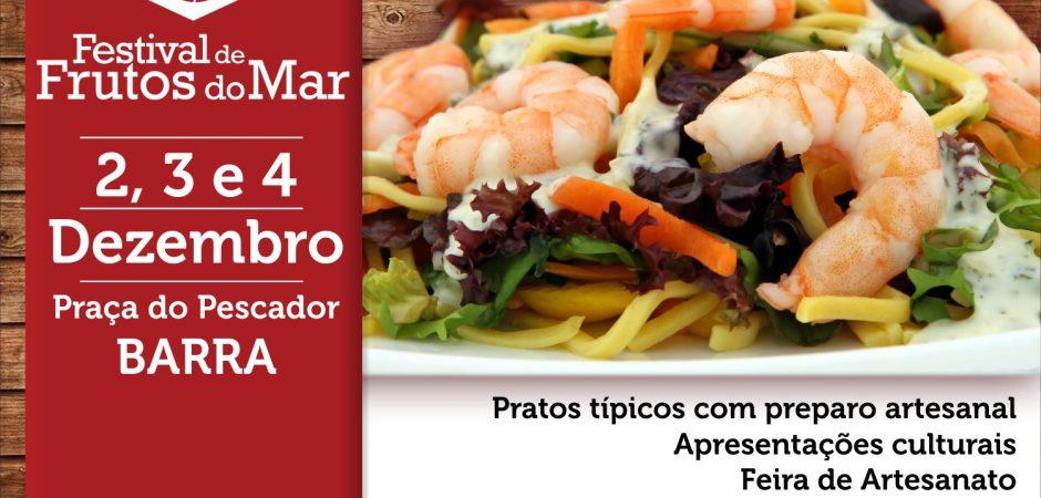 FCBC divulga relação dos selecionados para comercializar alimentos no 4º Festival de Frutos do Mar