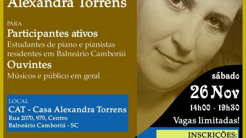 """Oficina """"Piano Erudito: Performance e Estudo"""" ocorrerá neste sábado (26) em Balneário Camboriú"""