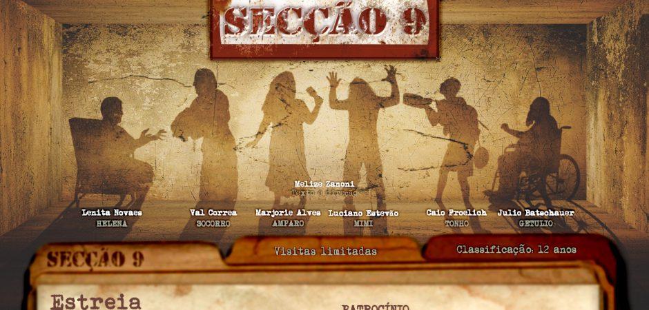 """""""Secção 9"""" estreia neste domingo (18) no Teatro Bruno Nitz, em Balneário Camboriú"""