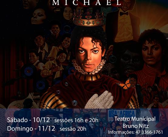 Bailarinos homenageiam Michael Jackson neste final de semana no Teatro Bruno Nitz