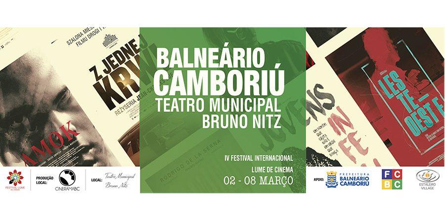 Longa brasileiro abre Festival Internacional de Cinema nesta quinta-feira no Teatro Bruno Nitz