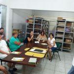 Funcionários do Arquivo Histórico de Balneário Camboriú conhecem arquivos da região