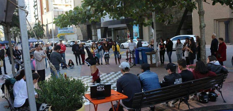 Batalhas de danças urbanas movimentam a Praça da Cultura neste sábado