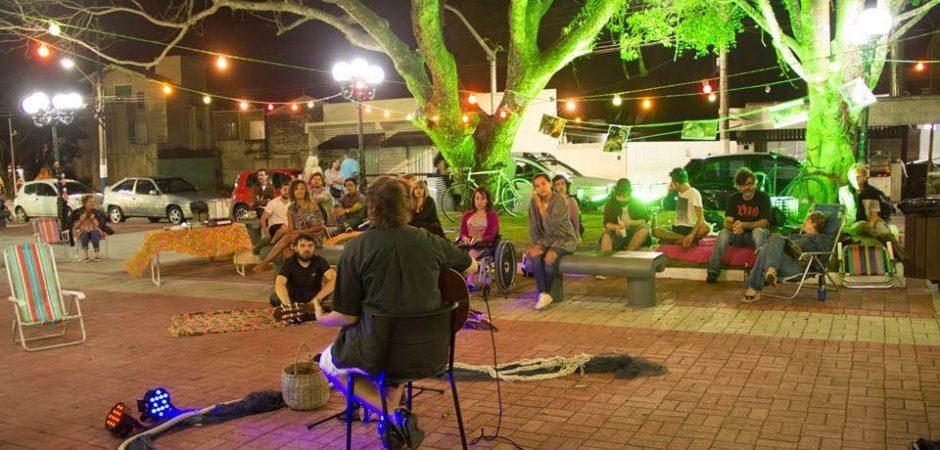 Neste sábado tem Sarau da Tainha na Praça do Pescador