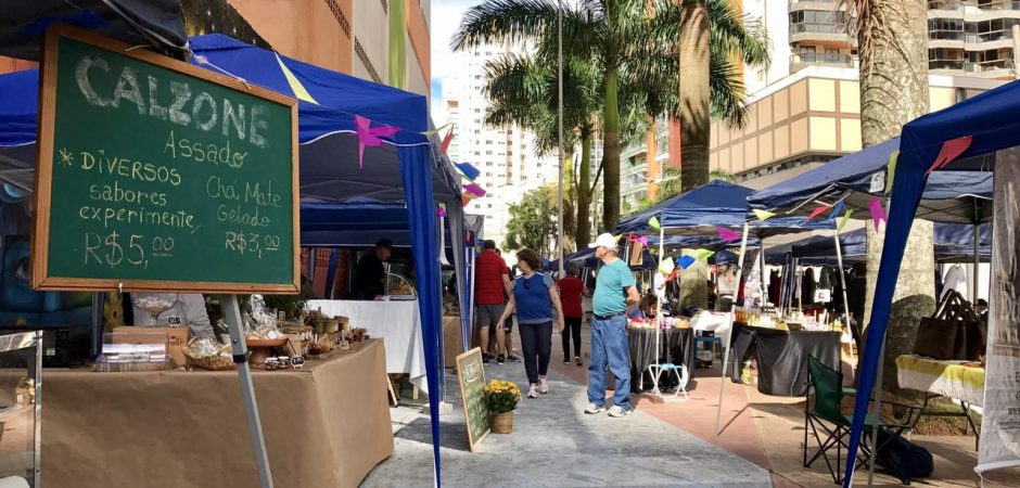 Nesta quinta, sexta e sábado tem Feira da Praça da Cultura