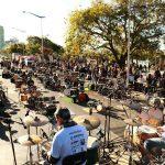Domingo tem orquestra de baterias na Praça Almirante Tamandaré