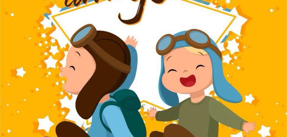 """Peça infantil """"Vem Brincar com a Gente"""" é atração no Teatro Municipal Bruno Nitz neste domingo"""